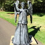 Doctor Who Weeping Angel Statue Attack Mode